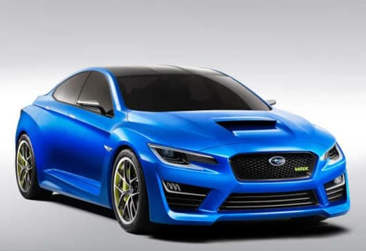 someone somewhere on the internet has leaked official photos of the new subaru wrx concept car two full days before it is due to be unveiled at