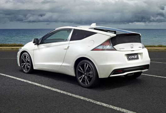 Elegant Styling Of The Honda CR Z Is Distinctive With A Sloping Rear Glass Roof And  Chopped Off Tail That Are Reminiscent Of The Old Honda CR X And The  Original ...