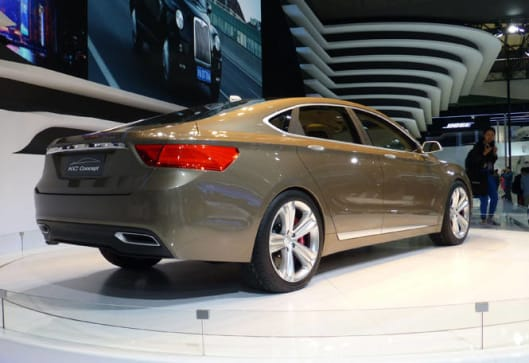 Geely To Recycle Volvo Luxury Concept Car News CarsGuide