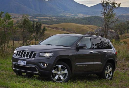 jeep grand cherokee 2013 review carsguide. Black Bedroom Furniture Sets. Home Design Ideas