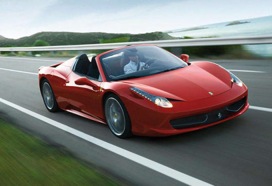 Ferrari 458 Spider 2013 Review