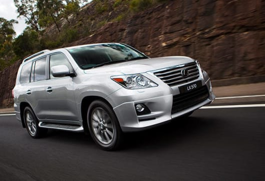 Lexus LX570 2013 Review