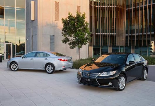 Lexus ES 350 And 300h 2014 Review