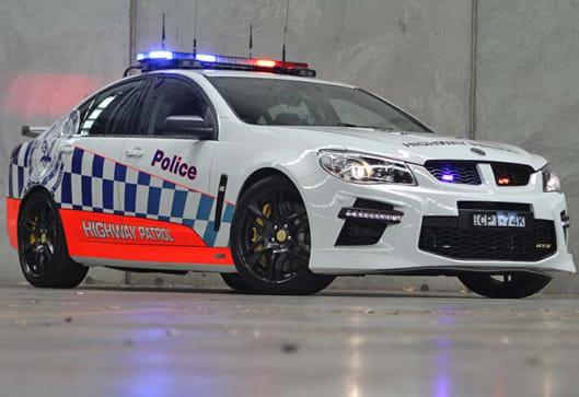 hsv gts australias fastest police car car news carsguide