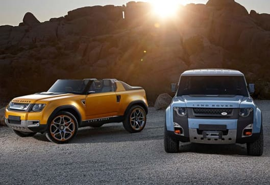 Land Rover Planning Prestige Ute Car News CarsGuide