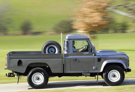 rover pickup the flying huntsman truck defender land landrover stuff awesome