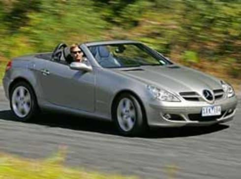 Mercedes benz slk 350 2004 review carsguide for Mercedes benz slk 350 price