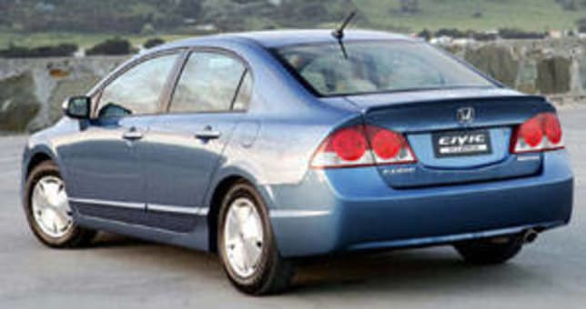 Attractive Honda Civic Hybrid 2006 Review