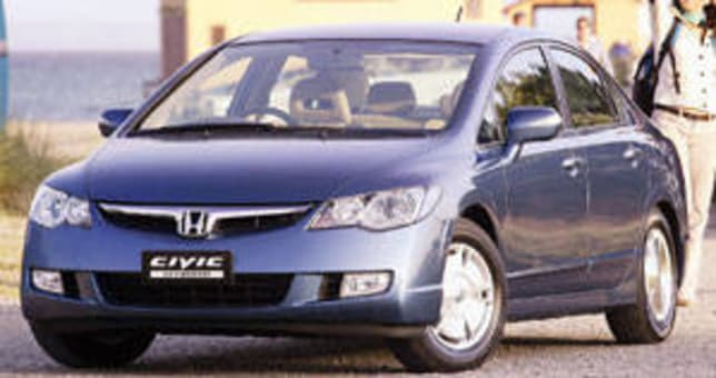 Honda Civic Hybrid 2006 Review