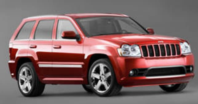 Lovely Jeep Grand Cherokee SRT8 2006 Review