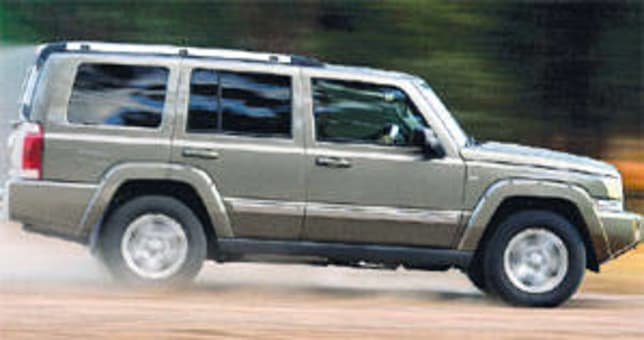 Jeep Commander 2007 Review