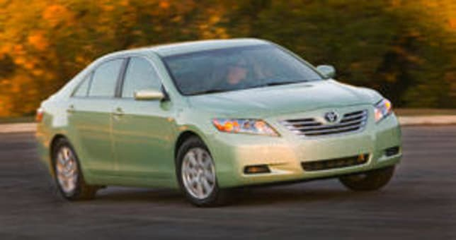 Toyota Camry Hybrid 2007 Review