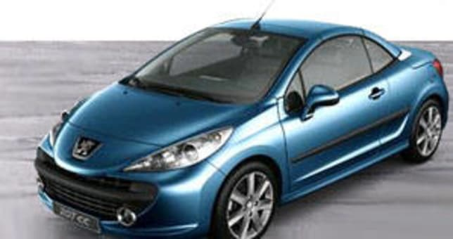 peugeot 207 cc 2007 review carsguide. Black Bedroom Furniture Sets. Home Design Ideas