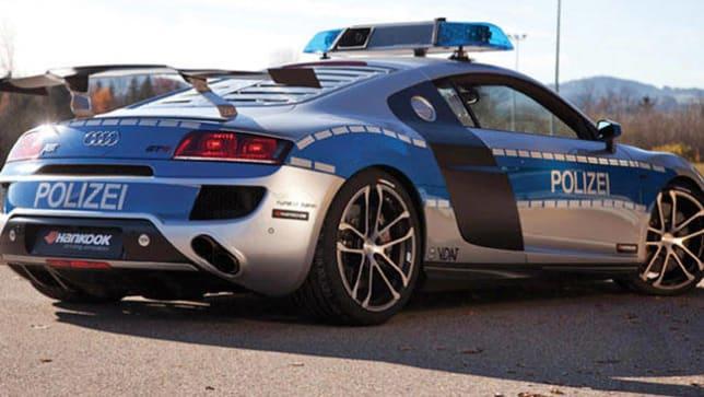 Audi R8 GT-R fastest police car - Car News | CarsGuide