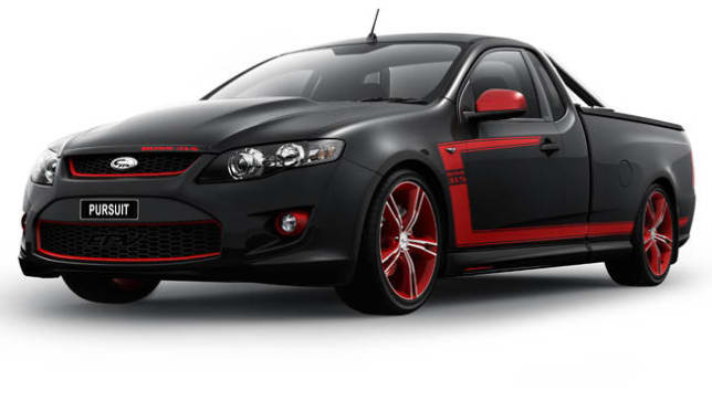 Fpv Pursuit Ute Is Strictly Limited Car News Carsguide