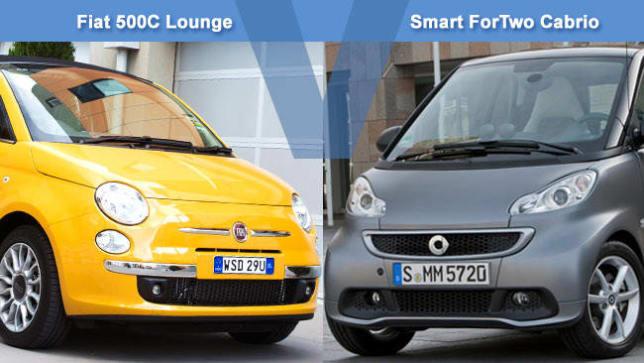 Fiat vs smart car
