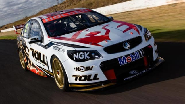 Holden Unveils V8 Supercar Car News Carsguide