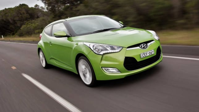 Delightful Hyundai Veloster 2012 Review