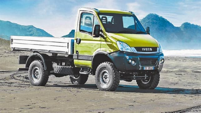 Iveco Daily 4x4 Goes On Sale Car News Carsguide