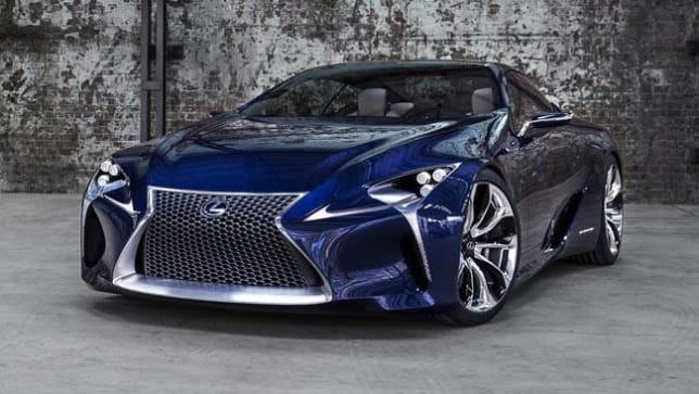 Lexus LF-LC confirmed for production. - Car News | CarsGuide