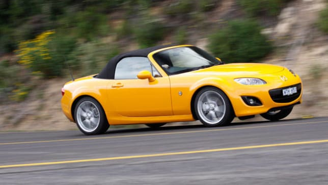 Great Mazda Axes MX 5 Soft Top Pictures