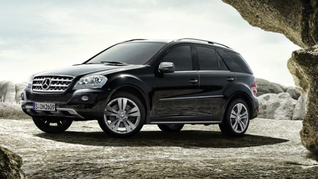 Mercedes benz m class ml350 2011 review carsguide for What country makes mercedes benz cars