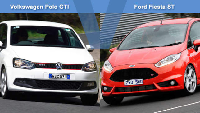 Volkswagen Polo Gti Vs Ford Fiesta St Review Carsguide