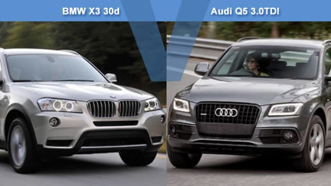 BMW X3 30d vs Audi Q5 30TDI Review  CarsGuide