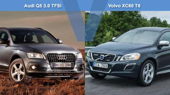 Audi Q5 30 TFSI vs Volvo XC60 T6 Review  CarsGuide