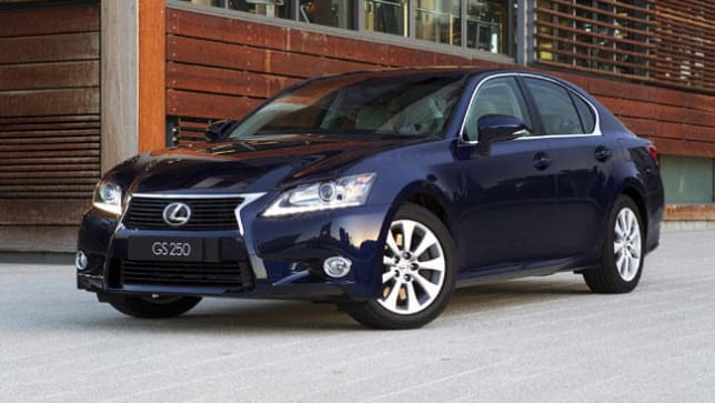 Lexus GS250 2012 Review