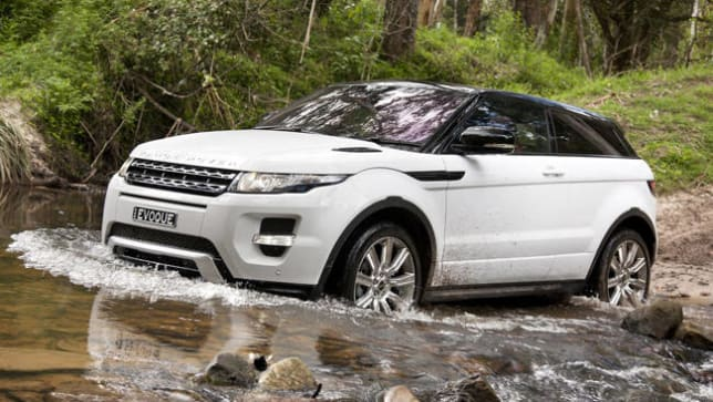 2012 Range Rover Evoque Coupe review  CarsGuide
