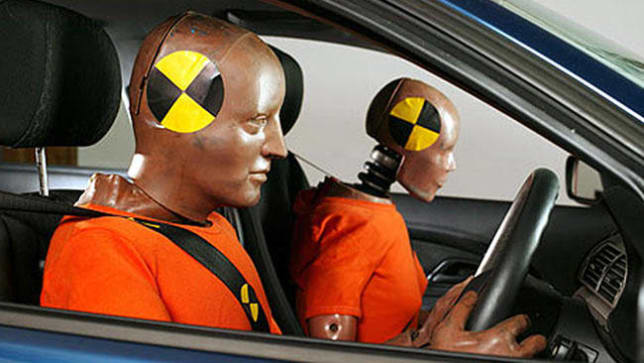 the importance of crash test dummies in vehicle safety One important vehicle test conducted at the vrc doesn't involve any kind of crash, real or simulated to measure roof strength, iihs uses a roof crush machine with hydraulic cylinders that press a metal plate into one corner of a vehicle's roof at a constant speed.