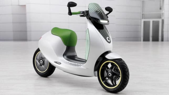 mercedes benz smart electric scooter  nod car news carsguide