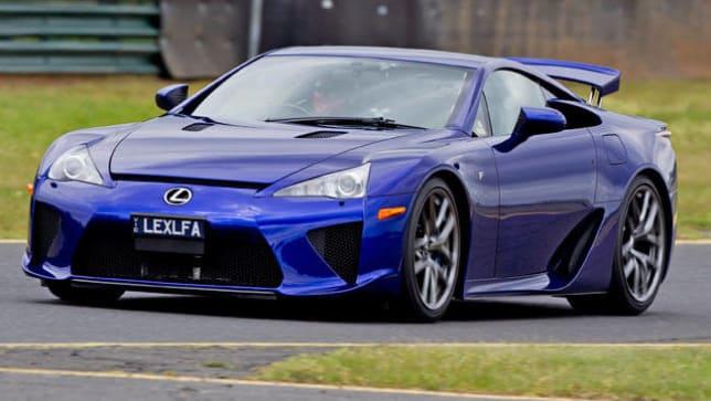 Lexus LFA has top shelf price - Car News | CarsGuide