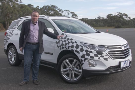Holden Equinox 2018 review: preview drive