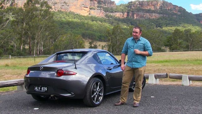 Mazda MX-5 RF 2017 review   first Australian drive video