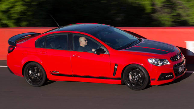 Holden commodore reviews carsguide holden commodore craig lowndes ss v special edition 2014 review sciox Gallery