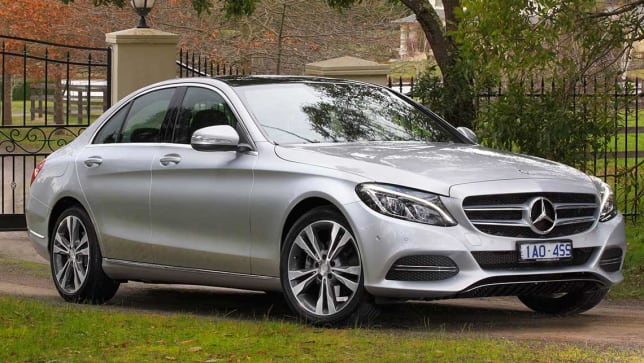 Mercedes benz c class c200 2014 review carsguide for Mercedes benz c300 residual value