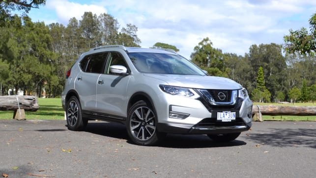2018 nissan x trail reviews carsguide. Black Bedroom Furniture Sets. Home Design Ideas