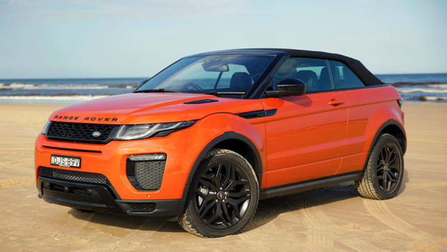 land rover range rover evoque convertible 2016 review. Black Bedroom Furniture Sets. Home Design Ideas