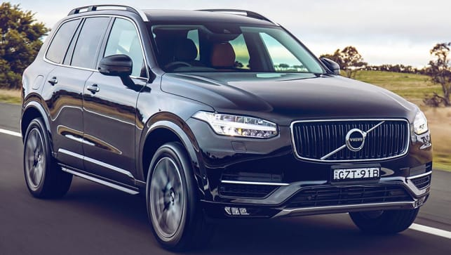 2015 volvo xc90 t6 review road test carsguide. Black Bedroom Furniture Sets. Home Design Ideas