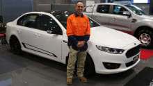 XR8 Sprint #1 sells for more than $90k at auction