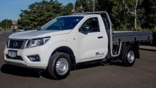 Nissan Navara NP300 Single Cab DX Cab-Chassis 4x2 2016 review