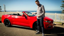 Ford Mustang EcoBoost Convertible 2016 review