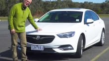 Holden Commodore 2018 review: preview drive