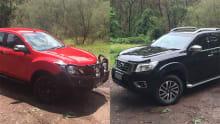 Mazda BT-50 vs Nissan Navara