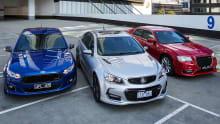 Holden Commodore SS-V Redline, Chrysler 300 SRT and Ford Falcon XR8 2015 review
