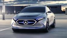 Mercedes-Benz EQA EV concept revealed in Frankfurt
