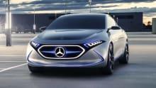 Mercedes-Benz EQA EV concept revealed in Frankfurt