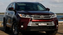 Toyota Kluger 2017 review